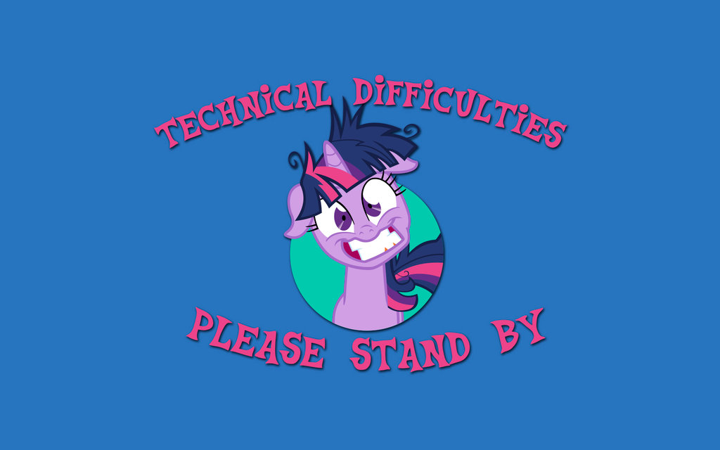 mlp_technical_difficulties_wallpaper__clean_ver___by_gneferu-d8l71xx