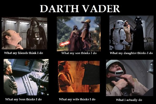 Dark Vador - what people think i do