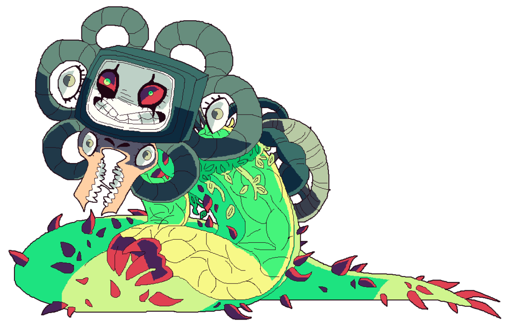 undertale__omega_flowey_much_by_afroclown-d9fhg73