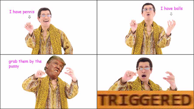 Pen Pineapple Apple Pen Trump