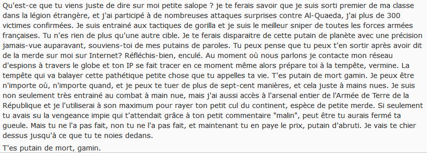 Navy seal copypasta french - La chronique facile du